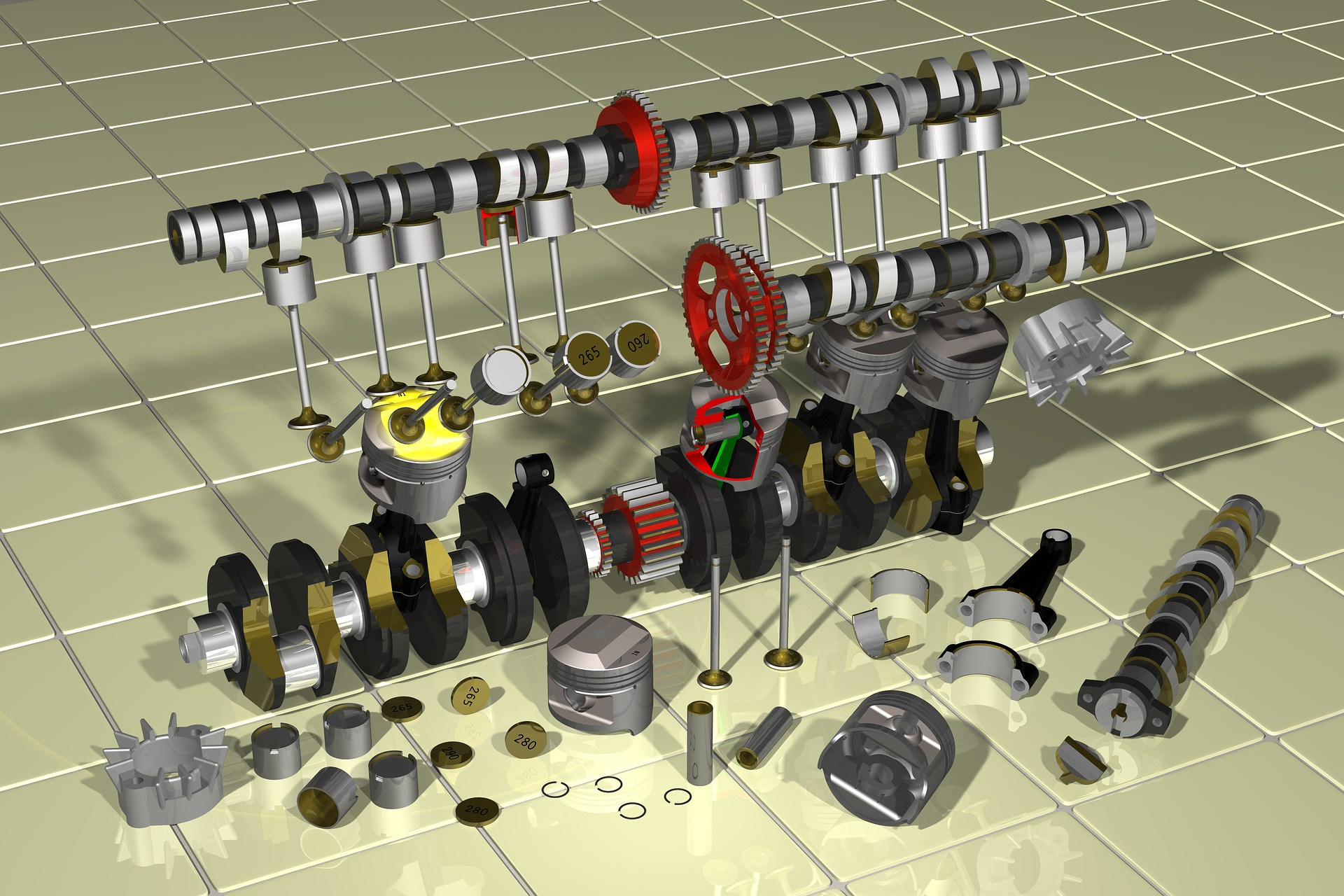 Main Parts of an Engine