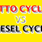 Difference Between Otto Cycle and Diesel Cycle
