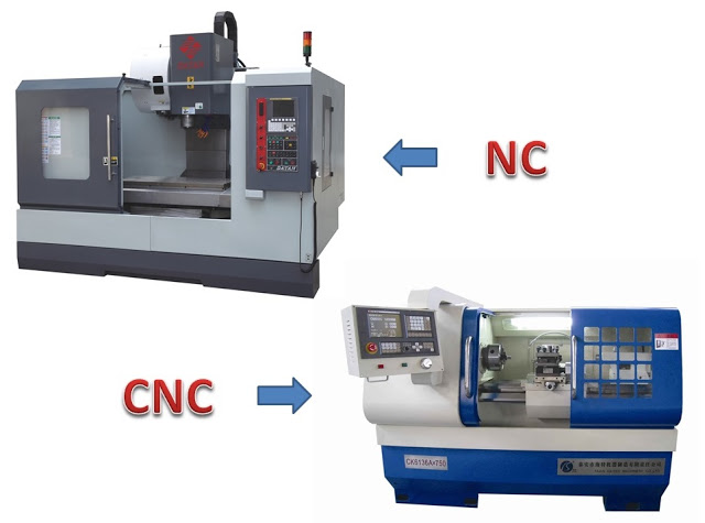 Difference between NC and CNC Machine
