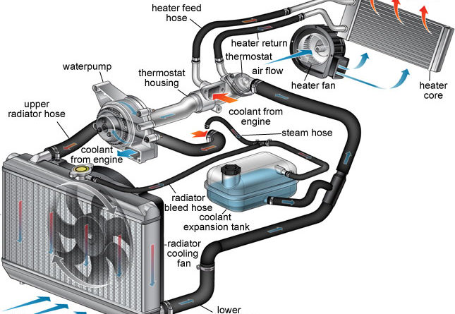 How Radiator Works in Automobile? - Easiest Explanation - Mechanical ...