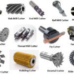 Types of Milling Cutters Used in Machining Process
