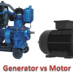 Difference Between Generator and Motor