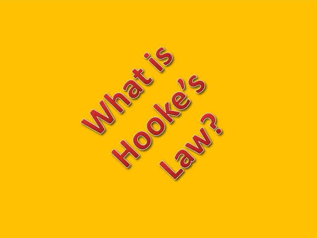 What is hooke's law