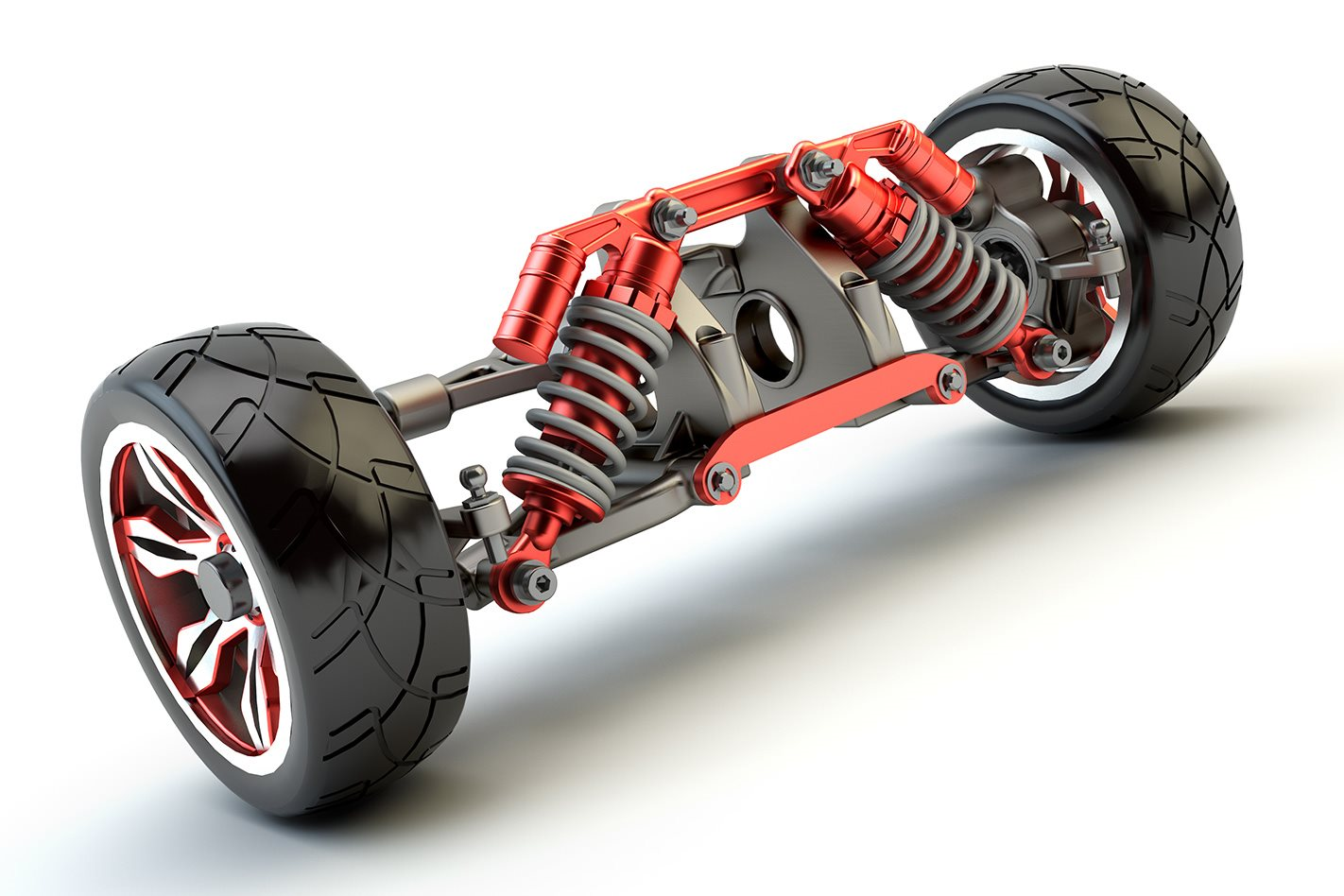 What Is Suspension In Car >> How Suspension System Works In Automobile Mechanical Booster