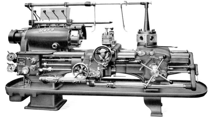 Capstan and Turret Lathe Machine