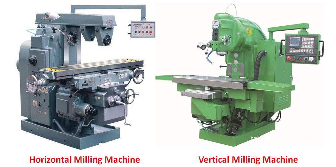 Horizontal Milling Machine >> Difference Between Horizontal And Vertical Milling Machine