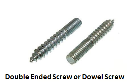 Double Ended Screw or Dowel Screw