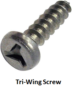 Tri-Wing Screw