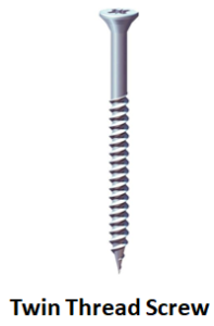 Twin Thread Screw