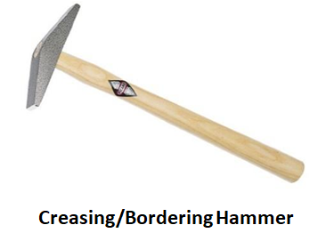 Creasing or Bordering Hammer