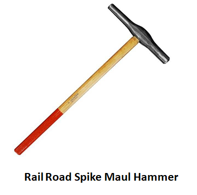 Rail Road Spike Maul Hammer