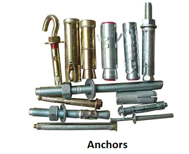 Anchors-Fasteners