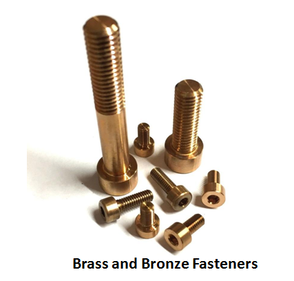 Brass and Bronze Fasteners