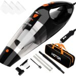 HOTOR Portable Car Vacuum DC 12V 16.4 Ft Corded