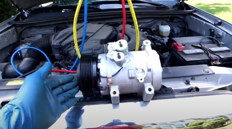 how to replace the AC compressor in your vehicle