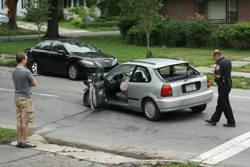 What to do when someone hits my parked car